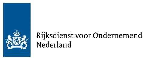 Logo Rijksdienst voor Ondernemend Nederland (RVO.nl)